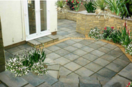 New Patio in Ogmore by Sea, Davies - AFTER