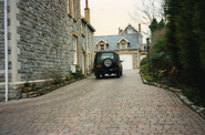 Cobble Driveway in Bridgend, Dunlop - AFTER