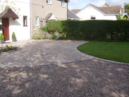New Path and Block Drive in Laleston, Evans - AFTER