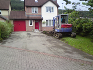 Jones Caerphilly, New Block Driveway -  BEFORE