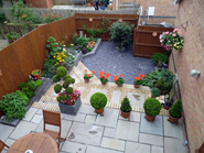 Meredith Landscape Gardener Swansea - AFTER