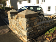 Stone and pillar caps - AFTER