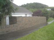 Boundry Wall in Cowbridge