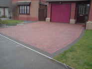 New Clay Block Paving in Bridgend